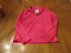 Womens Daily Sports LS Golf Shirt, NWT, S