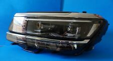 2018 VW TIGUAN 0 MILES FULL LED HEADLIGHTS LEFT OEM 8V0907399B