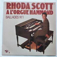 RHODA SCOTT A l orgue Hammond Ballades N°1 80574