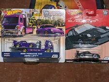 Lot of Hot Wheels Rwb Porsche 930 Silhouette Team Transport Variations Rare Htf