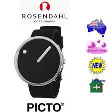 Genuine Rosendahl Copenhagen Picto Wrist Watch Black 40mm Automatic Movement
