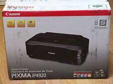 Brand New Canon PIXMA iP4920 Photo Inkjet Printer