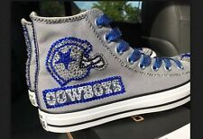 Crystallized Dallas Cowboys Shoes-Custom-made Any Team Any Sport Sz7-11