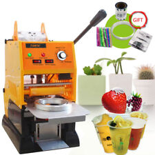 Automatic Cup Sealing  Sealer Machine Electric Tool For Milk Tea Coffee shop