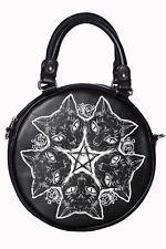 Banned Black Occult Pentagram Esotericat Cat Bag Dark Arts Witchcraft Goth Vegan