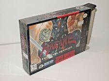 HAGANE Final Conflict (Super Nintendo) SUPER RARE BOX! In Shrink / Authentic!