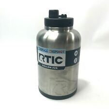 RTIC One Gallon Jug Stainless Steel NO HANDLE Sold AS IS Silver NEW