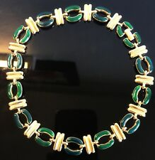 Vintage Collier Email /Enamel Necklace 70s