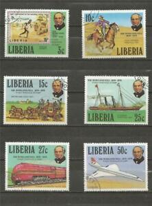 LIBERIA - 1979 The 100th Anniversary of the Death of Rowland Hill, 1795-1879