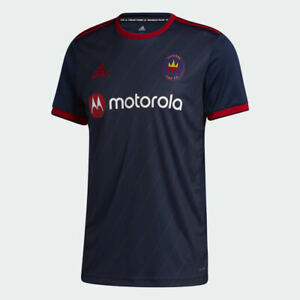 Adidas Mens Chicago Fire 20/21 Home Jersey Collegiate Navy / Power Red