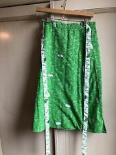Vintage 60s/70s Reversible Bird Print Skirt
