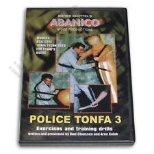 Dieter Knuttel European Abanico Police Tonfa #3 Exercises Dvd Claussen & Kulok