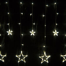 12 Twinkling Stars Fairy String Lights Curtain 168 LED For Christmas Decor Hot