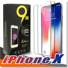 [2-Pack] For Apple iPhone X Real Tempered Glass