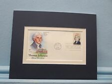 President Thomas Jefferson & the First day Cover of his own stamp