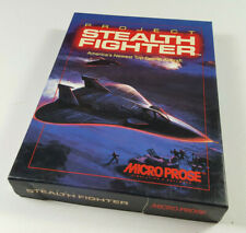 Project Stealth Fighter MicroProse Commodore 64 C64 C 64 Disk Spiel 1988 US/EN