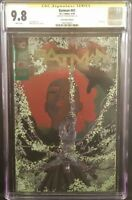 DC Comic BATMAN 41 CGC SS 9.8 Silver Foil Convention Edition Tom King POISON IVY