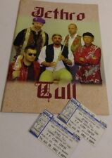 Jethro Tull / j-tull Dot Com Tour Program 1999 Excellent+ w/Ticket Stubs