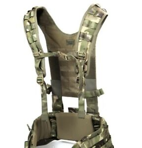 British Army Issue MTP Virtus H Yoke Webbing Harness, New