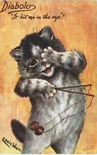 More details for louis wain cats. diabolo. it hit me in the eye # 9563 by tuck.