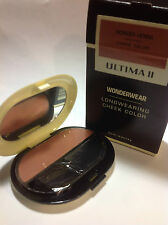 Ultima II Wonderwear Longwearing Cheek Color Blush ( WONDER HENNA ) .28 oz NEW