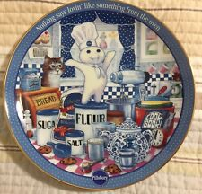 """Pillsbury Doughboy """"Ingredients For Fun"""" Collectors Plate Limited Edition 2000"""