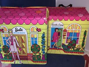 1966 Mattel Francie & Casey House-Mate Case Barbie SEARS Exclusive 5092 And 5091
