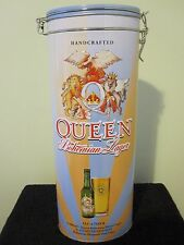 QUEEN :  BOHEMIAN RHAPSODY LAGER GIFT SET + PINT GLASS + BEER BOTTLE (EMPTY)