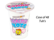 Sweetzone Candy Floss 20 G Custodia Completo di 48 vasca da bagno's wedding DOLCE carrello tavolo 107173