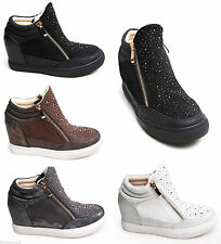 Unbranded Zip Wedge Synthetic Shoes for Women