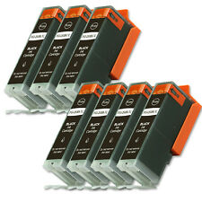 7 BLACK Ink Cartridge fits + CHIP for Canon PGI-250 XL MX722 MX922 MG6620 MG7520