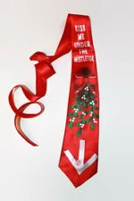 Da Uomo Natale Musicale Tie illuminare novità regalo personale Ufficio Festa vischio