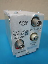 Harris Farinon SD-101808 OPT 012 6 GHz Local Oscillator 101.796875 MHz