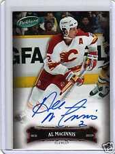 AL MacINNIS 06/07 Parkhurst Auto Autograph Calgary Flames #68 Hard-Signed COA