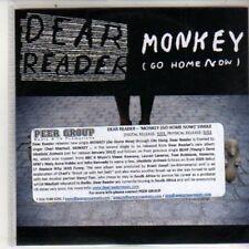 (DB40) Dear Reader, Monkey (Go Home Now) - DJ CD