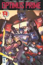 Optimus Prime #1 Sub cover B John Barber Kei Zama IDW 1st Print NM