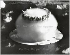 Photo: Rare Aerial: Atomic Bomb Test Shot Baker, Bikini Atoll Lagoon, 1946