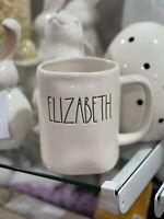Rae Dunn ELIZABETH Mug NEW