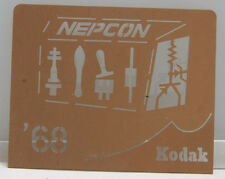 Kodak 1968 NEPCON Machinist Conference Chemical Milling Promo Piece EX++ X228