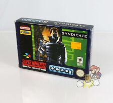 Syndicate (Super Nintendo / SNES) * KOMPLETT * TOP * PAL * OVP *