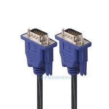 1.5m VGA HD 15Pin Sub-d Stecker Verlängerung Kabel Computer Monitor Anschluss
