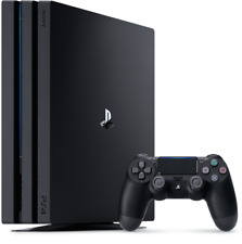 Sony PlayStation 4 PS4 PRO 1TB Black CONSOLE - BRAND NEW IN WHITE BOX