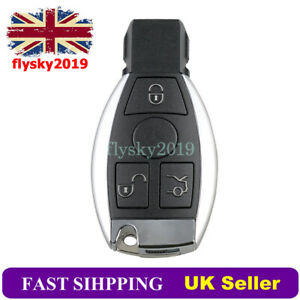 3 Button Remote Key Fob Case Shell For Mercedes Benz BGA C E G R S Class GL SL