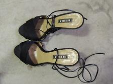 SANDALO LEGATO ALLA SCHIAVA IN PELLE SEXY_used shoes fetish  high heel