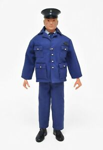 Vintage 1960's GI Joe sized unbranded Air Force Dress uniform