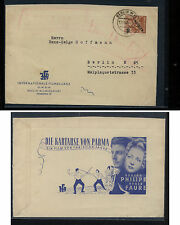 Germany, Berlin  9N65  on  nice ad cover  local use                 KL0902