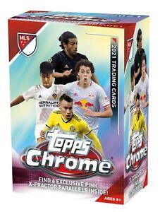 2021 Topps MLS Major League Soccer Chrome Box - BRAND NEW FOOTBALL CARDS