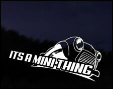 Classic Mini Thing Car Decal Sticker JDM Vehicle Bike Bumper Graphic Funny