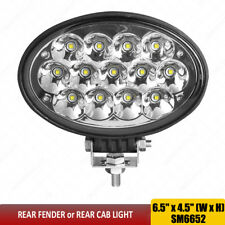 "RE567623 RE233263 RE219708 6.5"" inch 13leds Oval 65W Spot led tractor lights x1"