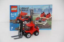 LEGO CITY 7898 CARGO TRAIN DELUXE Crane Truck Split From Set No Spring